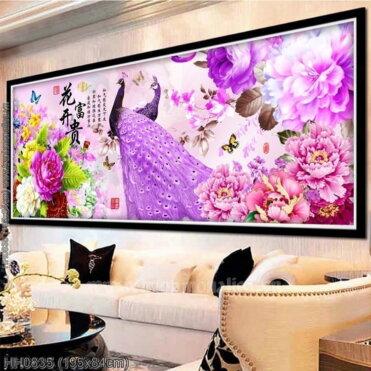 Tranh thêu kín Monalisa HH0835