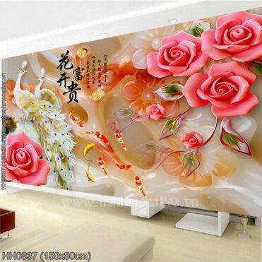 Tranh thêu kín Monalisa HH0837