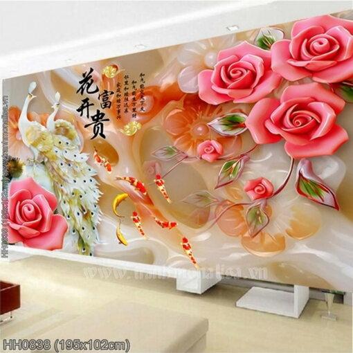 Tranh thêu kín Monalisa HH0838