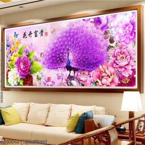 Tranh thêu kín Monalisa HH0843