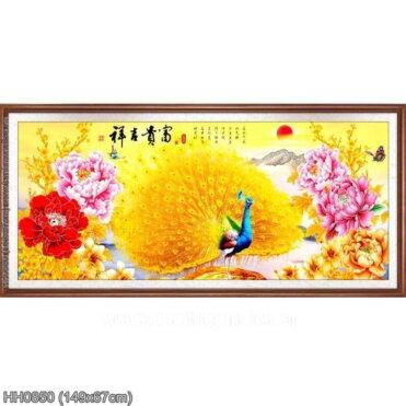Tranh thêu kín Monalisa HH0850