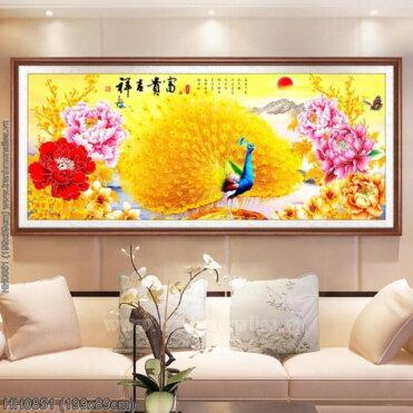 Tranh thêu kín Monalisa HH0851