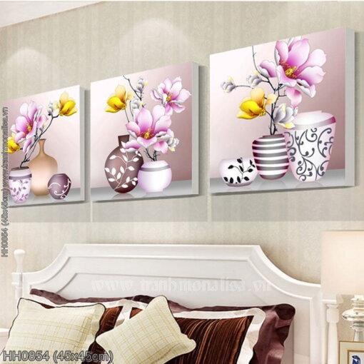 Tranh thêu kín Monalisa HH0854