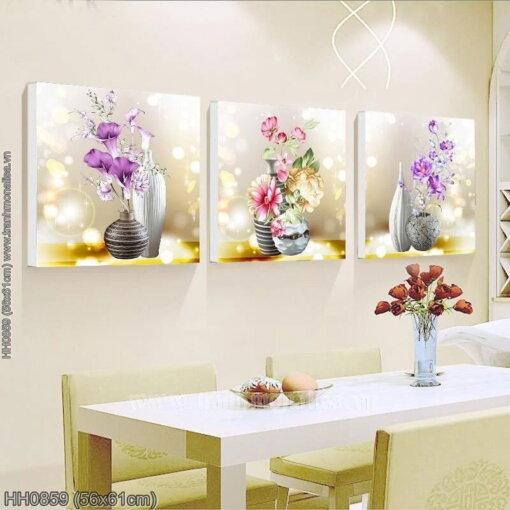 Tranh thêu kín Monalisa HH0859