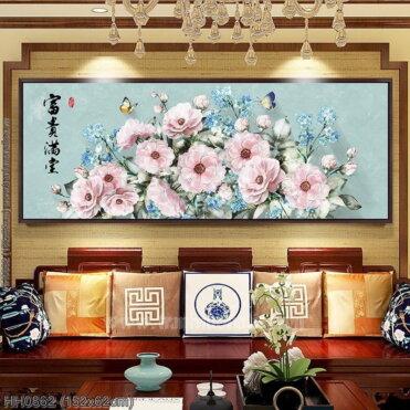 Tranh thêu kín Monalisa HH0862