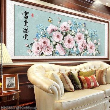 Tranh thêu kín Monalisa HH0863