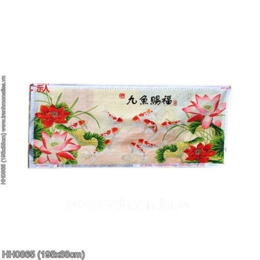 Tranh thêu kín Monalisa HH0865