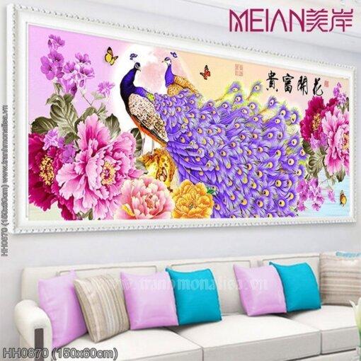 Tranh thêu kín Monalisa HH0870