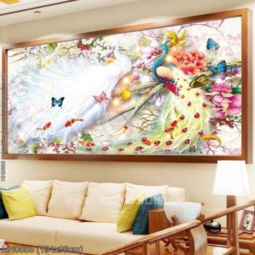 Tranh thêu kín Monalisa HH0883