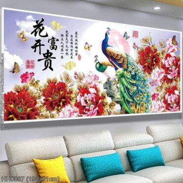 Tranh thêu kín Monalisa HH0887