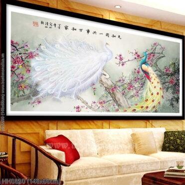 Tranh thêu kín Monalisa HH0890