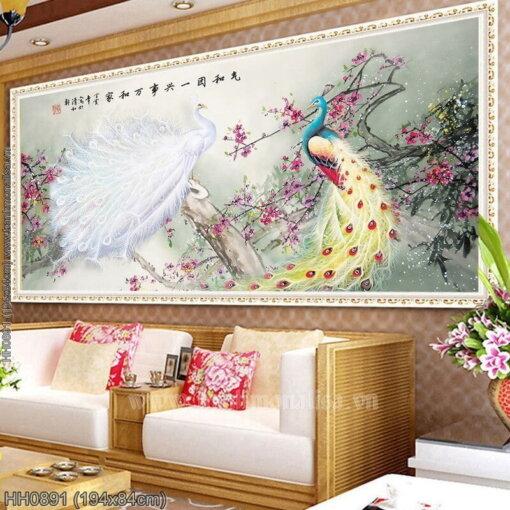 Tranh thêu kín Monalisa HH0891