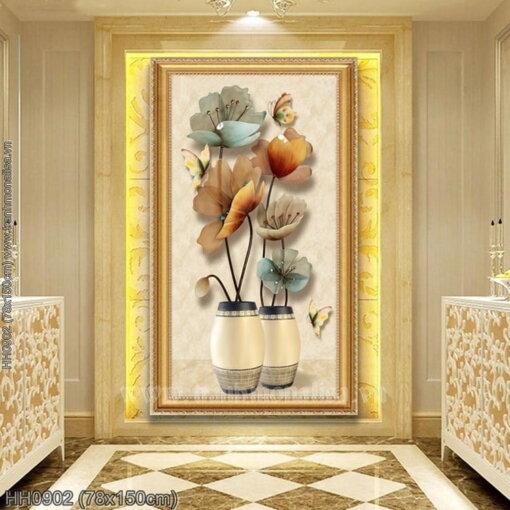 Tranh thêu kín Monalisa HH0902