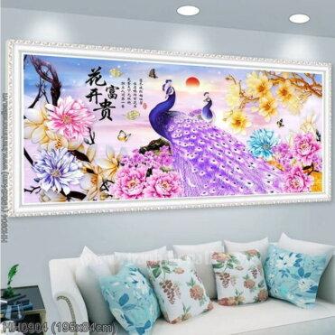 Tranh thêu kín Monalisa HH0904