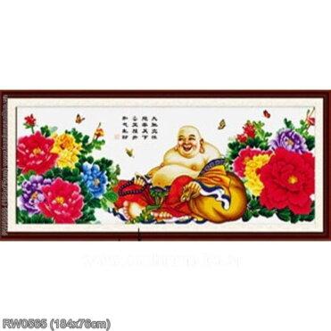 Tranh thêu kín Monalisa RW0565