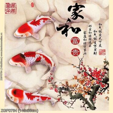 Tranh thêu kín Monalisa ZGF0764
