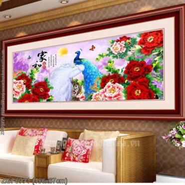 Tranh thêu kín Monalisa ZGF0771