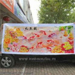 Tranh thêu kín Monalisa ZGF0780-9CT