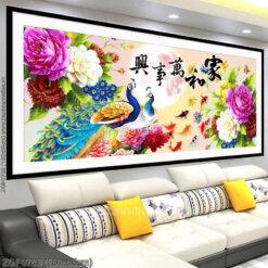 Tranh thêu kín Monalisa ZGF0783