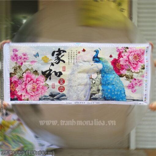 Tranh thêu kín Monalisa ZGF0803