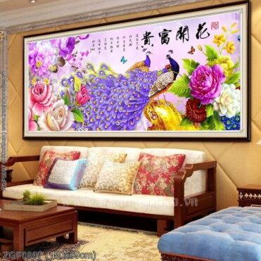 Tranh thêu kín Monalisa ZGF0807