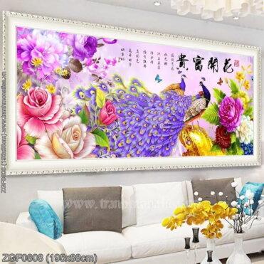 Tranh thêu kín Monalisa ZGF0808