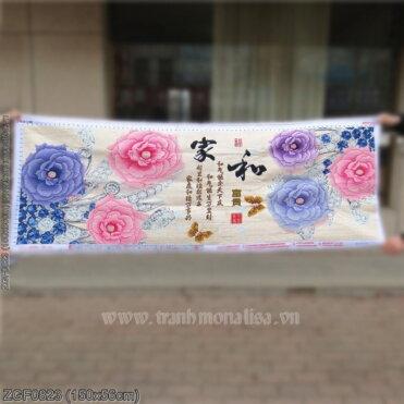 Tranh thêu kín Monalisa ZGF0823