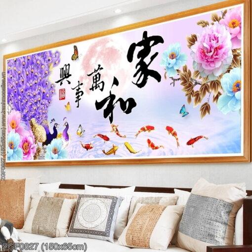 Tranh thêu kín Monalisa ZGF0827