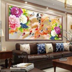 Tranh thêu kín Monalisa ZGF0838