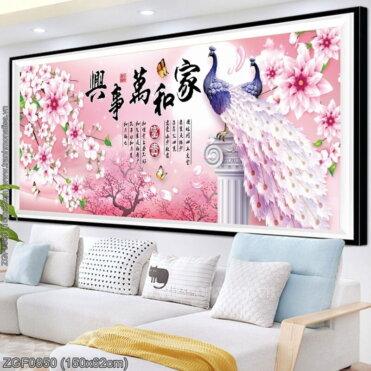 Tranh thêu kín Monalisa ZGF0850