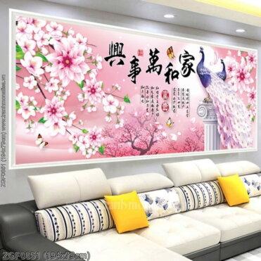 Tranh thêu kín Monalisa ZGF0851