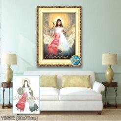 Y8292 Tranh đính đá Chúa Giêsu kích thước siêu nhỏ 50x70 cm