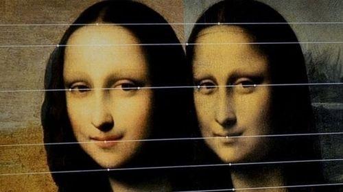 Hai bức tranh Mona Lisa song sinh