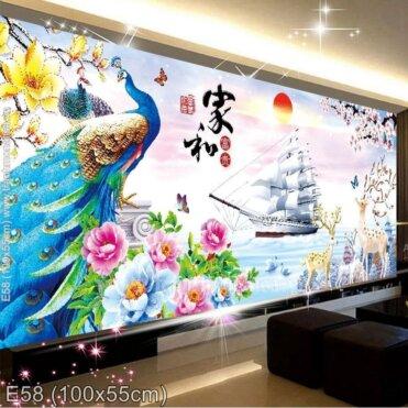 Tranh thêu Thuận buồm xuôi gió (E58)