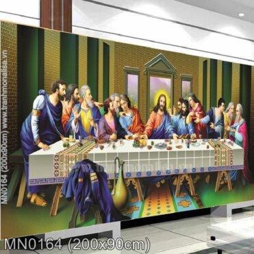 Tranh thêu Bữa tiệc ly (MN0164)
