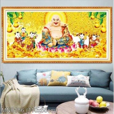 Tranh thêu Vinh hoa phú quý (MN0186)
